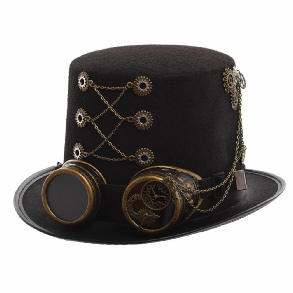 1ac1b184 STEAMPUNK HATS FOR SALE - Vintage, Victorian, Top Hats
